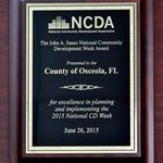 Osceola County honored with national award