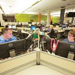 UPDATED: CorvisaCloud expanding Schlitz Park office space, but drops plan for slide