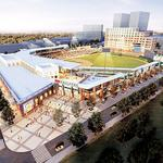 Building plans near ballpark still on drawing board