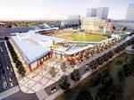 Building plans near ballpark still on drawing board