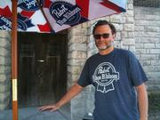 Eugene Kashper shown here at the Pabst complex in Milwaukee, will remain full-time chairman of the brewer.