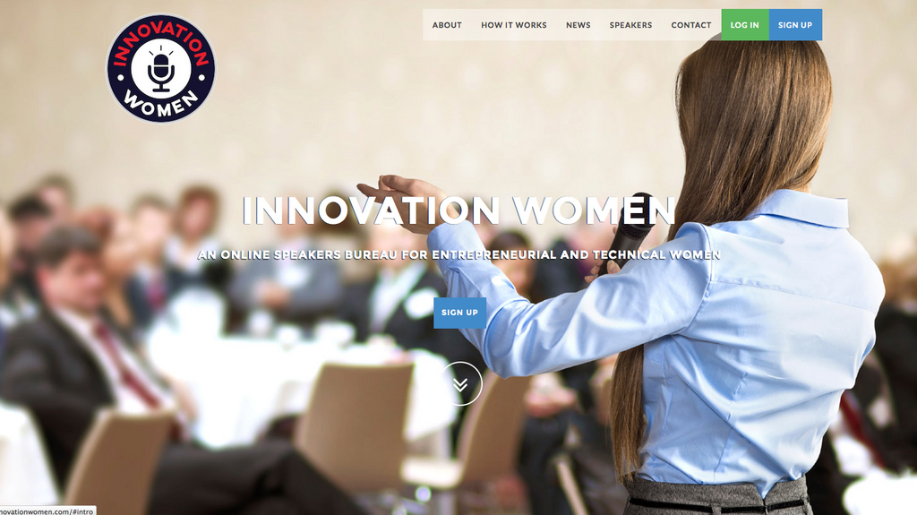 With new website, there's 'no excuse' not to have female speakers on tech panels