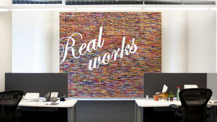 cool office art. The Most Striking Feature Of Antenna\u0027s Office Space Is Its \ Cool Art