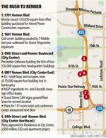 Rob Roberts: Renner Boulevard sees a rush of activity