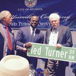 Ted <strong>Turner</strong> honored with his own street – Ted <strong>Turner</strong> Drive