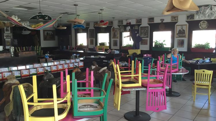 Long delayed Pericos Mexican restaurant on 4th Street in St
