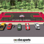 Atlanta Hawks to unveil team-branded basketball court at Welcome All Park (SLIDESHOW)