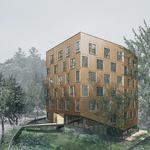 New apartments near OHSU aim to be one of the trees in the forest (Photos)