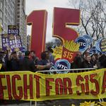 'Fight for $15' heads to Annapolis, as General Assembly considers <strong>bill</strong> to raise minimum wage