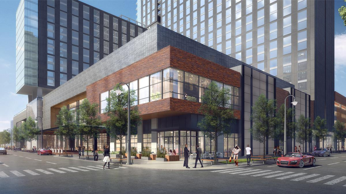 Omni debuts virtual tour for downtown louisville hotel for Pool design louisville ky