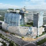 Exclusive: New images show dual towers planned for iSquare Mall + Hotel
