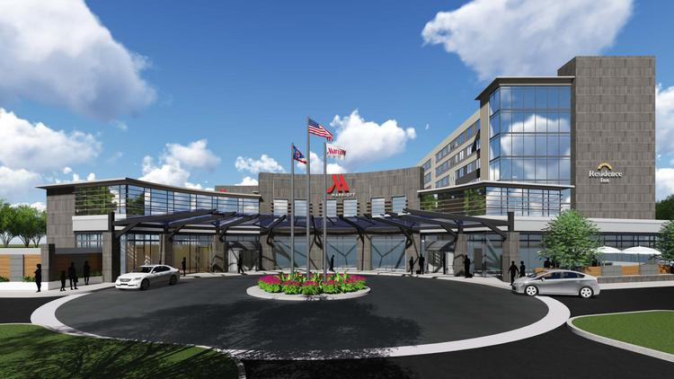 Continental Real Estate And Concord Hospitality Enterprises Are Building A Dual Branded Marriott Hotel
