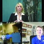 Amherst firm uses drones to deliver videoconferences