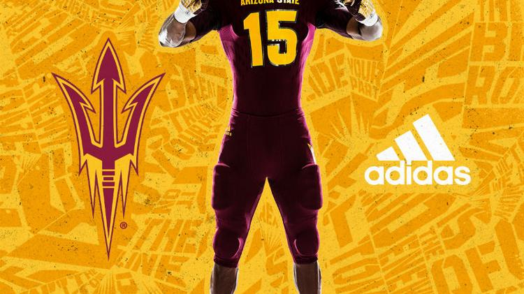 Adidas unveils Arizona State uniforms - Portland Business Journal 87321bc28