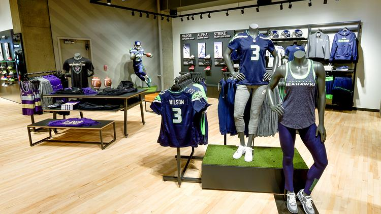 Here's a look at Nike's redesigned Seattle store (Photos) - Portland ...