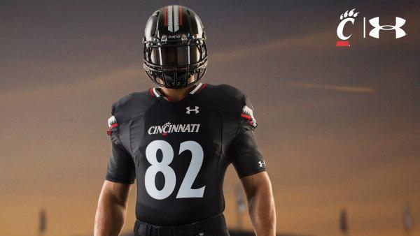 new concept 4614e 2fdfd UC unveils new football uniforms: PHOTOS - Cincinnati ...