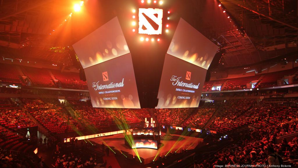 the international dota 2 competition kicks off at key arena as