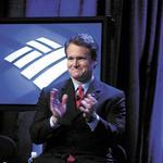 Bank of America's <strong>Moynihan</strong> hangs onto chairman role