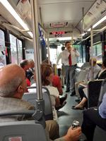 Streetcar Authority meets on a KCATA bus