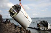 Lion Air Flight 904, April 13, 2013: A Boeing 737 traveling from Bandung, Indonesia, crashed on final approach to Ngurah Rai International Airport in Bali. It plunged into shallow coastal waters less than a mile from the runway and broke in two. Although there were nearly four dozen injuries, all 101 passengers and 7 crew members survived.