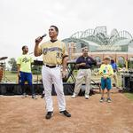 Milwaukee Brewers celebrate Cerveceros Day with traditional music, dancers: Slideshow