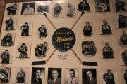 The Cincinnati Mohawks display in the Legends Museum.