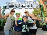 Seahawks training camp — the fans are all in