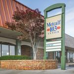Metcalf 103 shopping center hits the market