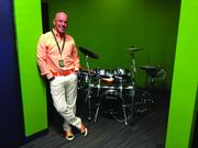 Blake Irving is bringing a different beat to GoDaddy. While founder and former CEO Bob Parsons was known for his motorcycles, Irving brought his drums to Scottsdale.