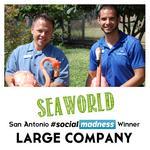 SeaWorld San Antonio crowned Alamo City's large-company Social Madness Champion