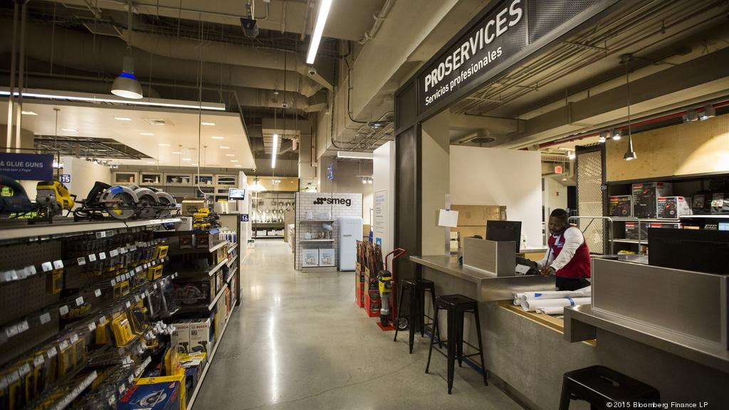 lowe s opens its first urban oriented home improvement store in