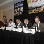 Executives met for the Business of Saratoga Power Breakfast this morning