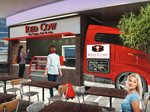 Airport's new 'food truck alley' won't have food truck brands