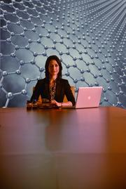 Anastasia Canavan, Garmor Inc. CEO. Garmor will begin manufacturing graphene in August.