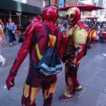 Council approves bill to cordon off Times Square costumed characters, desnudas