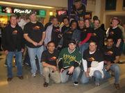 Catapult Systems employees at the Stars games.