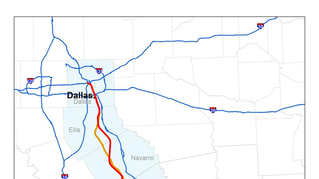 Exclusive Feds Finalize Texas Central Partners Bullet Train - Texas high speed rail map