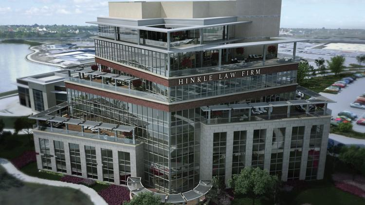 Hinkle Law Firm will occupy three of the seven floors in a new Waterfront office building.