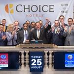 Choice Hotels rings opening bell on a day Wall Street hopes for a rebound​