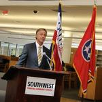 Haslam: Megasite loss prompts proposed tax cut