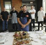 Not your usual fare: Gala dinner chefs come from outside the grid