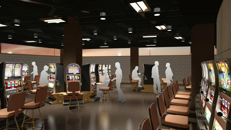 Hollywood Casino Columbus Is Adding Another Patio For Smokers, With 71 Slot  Machines.