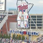 Target Field's center field makeover