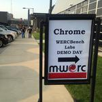 Diverse class debuts at first M-WERC startup accelerator demo day