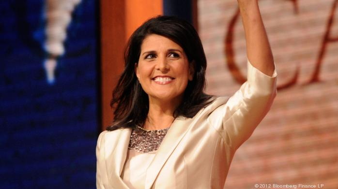 Politics: State Dept. wants White House review before Haley speaks