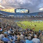Carolina Panthers still building at stadium for future