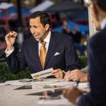 ESPN announcer begins long football season in Charlotte