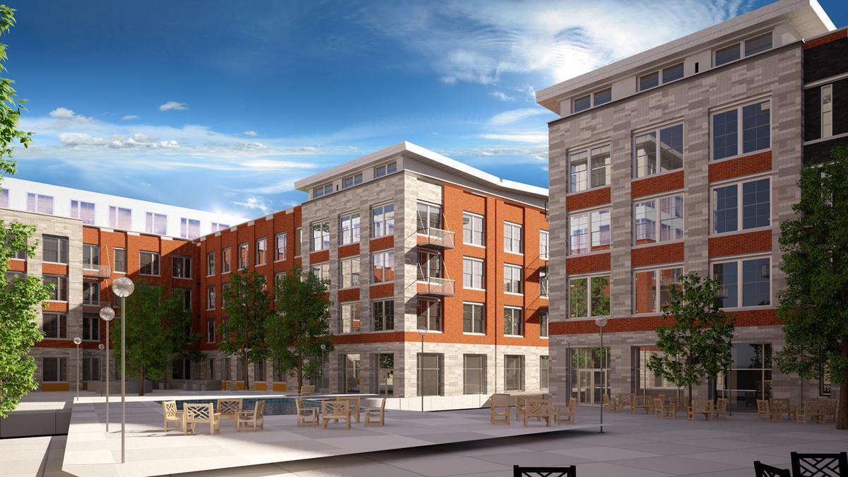 kc developers near construction restart for second and delaware apartment project kansas city. Black Bedroom Furniture Sets. Home Design Ideas