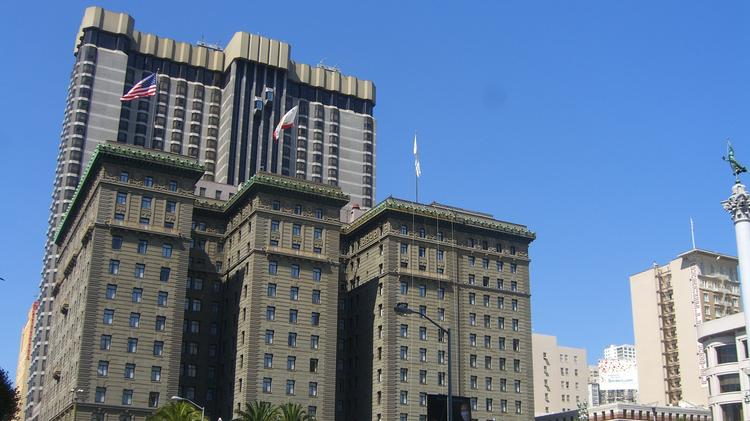 Union Square Landmark Hotel Westin St Francis Up For Sale After