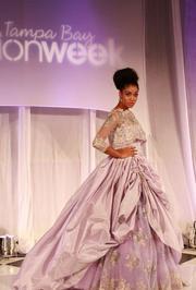 A scene from Tampa Bay Fashion Week